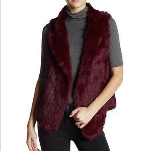 Joie rabbit fur vest